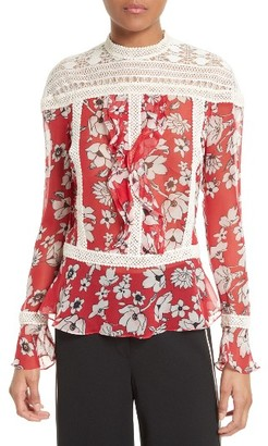 Women's Tracy Reese Silk Blouse $248 thestylecure.com