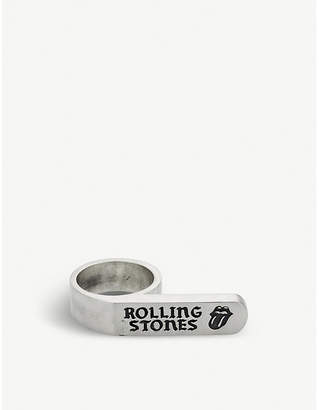 Jade Jagger The Rolling Stones x banner ring