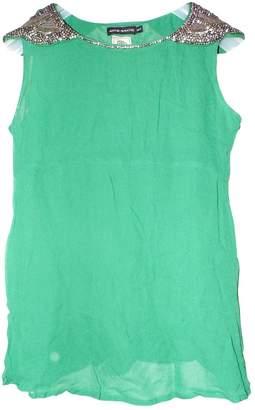 Antik Batik Green Top for Women