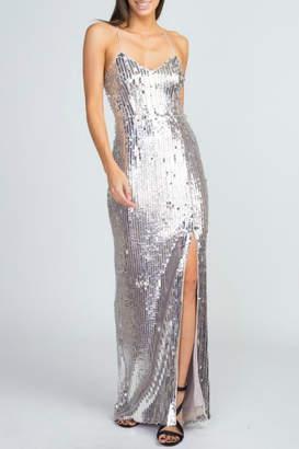 Minuet Sequin Ball Gown