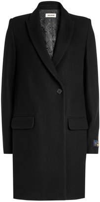 Zadig & Voltaire Marco Coat with Wool