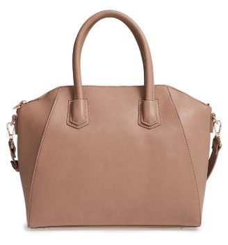 Sole Society Mikayla Satchel - Beige $64.95 thestylecure.com