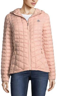 Reebok Woven Packable Lightweight Puffer Jacket