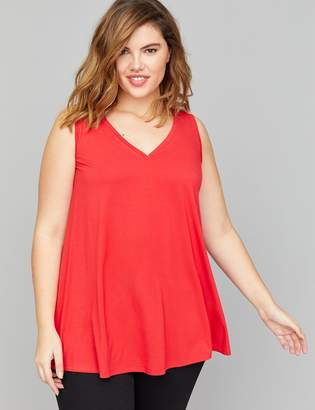 8802f52594947 Lane Bryant Red Plus Size Tops - ShopStyle