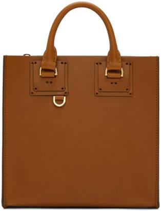 Sophie Hulme Tan Square Albion Bag