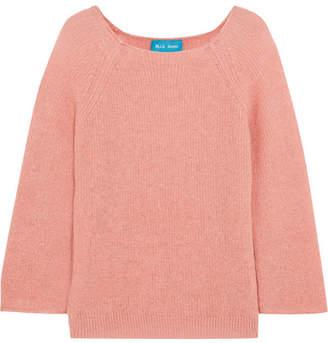 MiH Jeans Bowen Mohair-blend Sweater - Pink