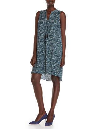 Nic+Zoe Nic + Zoe Sea Glass Tassel Shift Dress