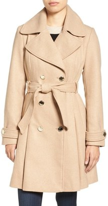 Jessica Simpson Fit & Flare Trench Coat $240 thestylecure.com