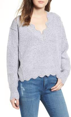 Love By Design Scallop Sweater