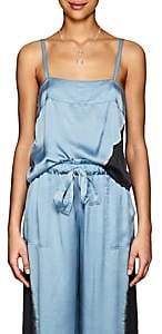 Raquel Allegra Women's Tie-Dyed Silk Satin Cami