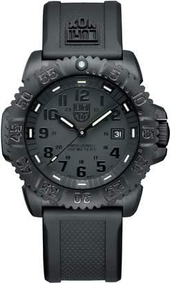 Luminox Men's Navy Seal Blackout Colormark Watch