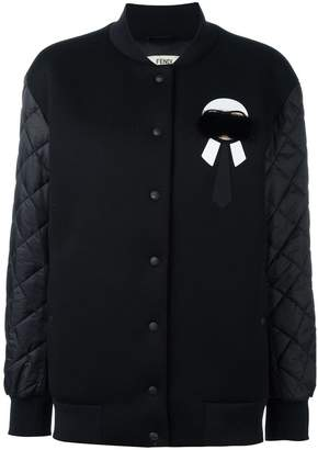Fendi quilted sleeve jacket