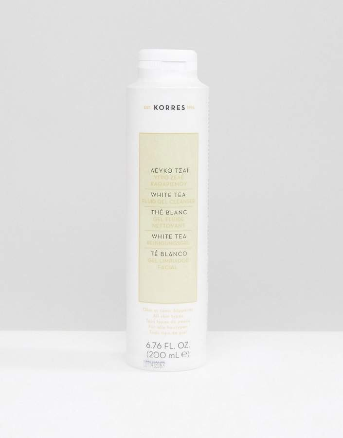 Korres White Tea Facial Fluid Gel Cleanser 200ml