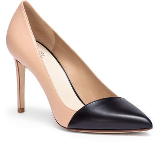 Francesco Russo Two-tone 90 leather pumps
