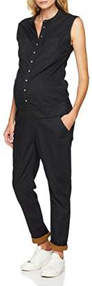 Esprit Women's Jumpsuit Knitted Sl Maternity Dungarees,8 (Manufacturer Size: X-Small)