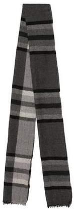 Burberry Patterned Fine Knit Scarf