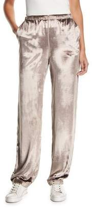 Rag & Bone Crushed Velvet Track Pants