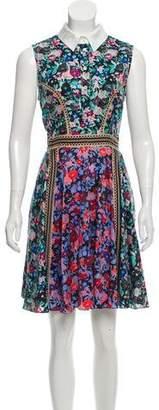 Mary Katrantzou Printed Mini Dress
