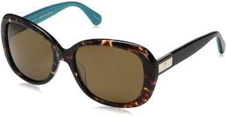 Kate Spade new york Women's Judyann/p/s Oval Sunglasses