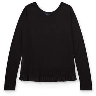 Ralph Lauren Long-Sleeve Jersey Top