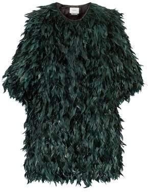Erdem Jillian Feather Jacket
