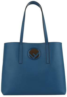 Fendi Leather Shopper Bag