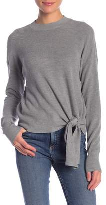 Abound Solid Tie Front Sweater