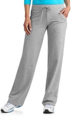 Danskin Women's Plus Size Dri More Core Relaxed Fit Workout Pant