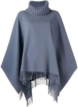 Fabiana Filippi roll-neck draped sweater