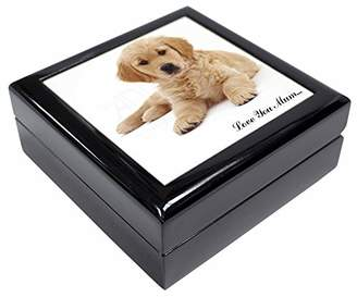 Golden Retriever 'Love You Mum' Keepsake/Jewellery Box Christmas Gift