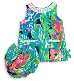 Lilly Pulitzer Baby's Lilly Shift Dress & Bloomers Set