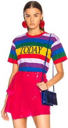 Alberta Ferretti Today Striped Tee