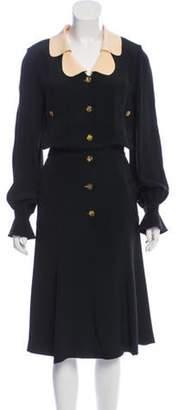 Chanel Silk Dress Black Silk Dress