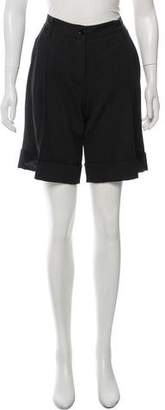 Dolce & Gabbana Knee-Length Virgin Wool Shorts w/ Tags
