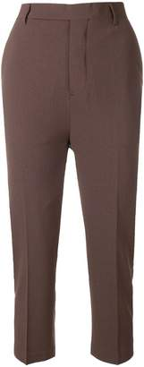 Rick Owens cropped slim trousers