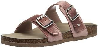 Madden-Girl Women's Brando-v Flat Sandal