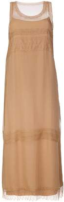 Alberta Ferretti long chiffon dress