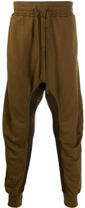 Haider Ackermann drop crotch drawstring trousers