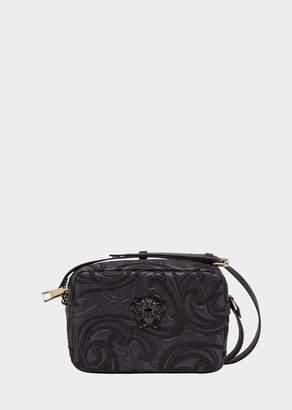 Versace Embroidered Baroque Shoulder Bag