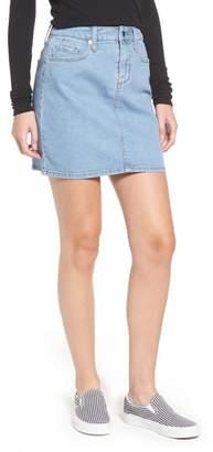 Love, Fire Denim Miniskirt