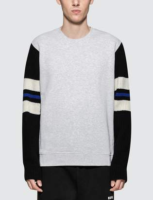 MSGM Sweatshirt with Stripe