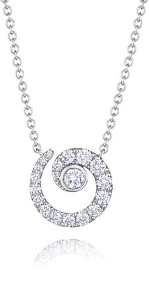 b232ad7ea Kwiat Diamond Coil Pendant Necklace