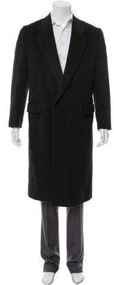 Marc Jacobs Wool-Mohair Notch-Lapel Overcoat