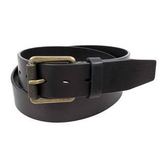 Stacy Adams Antique Brass Roller Buckle Casual Belt
