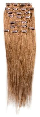 """SONO 1 Count 160 g 20"""" Clip-in Straight 1 Count 100% Human Hair Extensions"""
