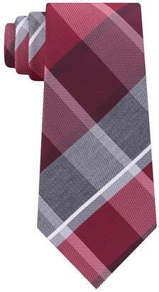 Geoffrey Beene Plaid Tie