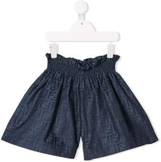 Fendi FF jacquard shorts