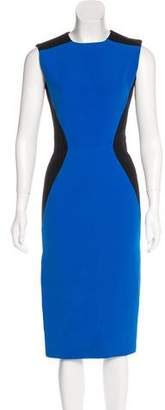 Victoria Beckham Colorblock Sheath Dress