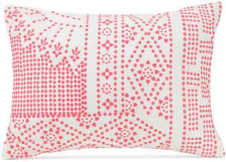 "Vera Bradley Coral Floral 14"" x 20"" Decorative Pillow Bedding"
