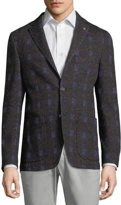 Paul Taylor Plaid Formal Jacket